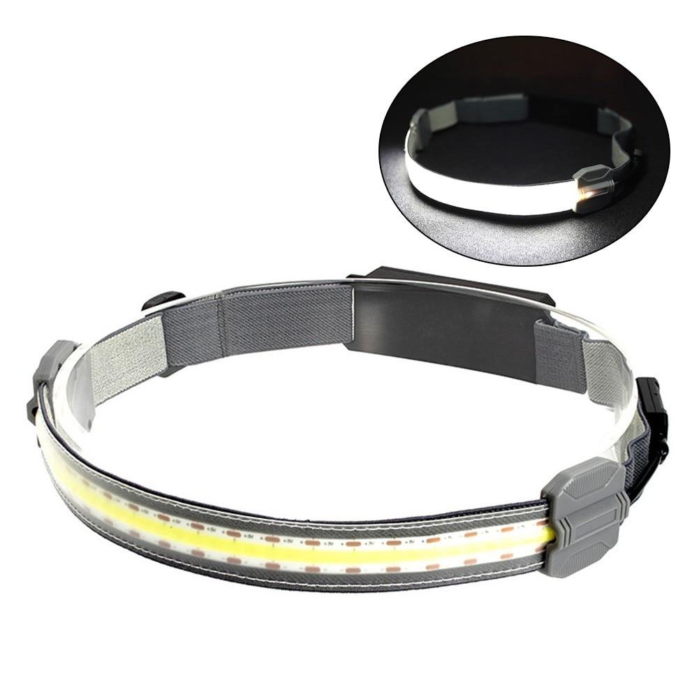 3 режима COB светодиодный налобный фонарь USB Перезаряжаемый налобный фонарь фонарик Рабочий фонарь бар наружный ночной Головной фонарь налобный фонарь navigator npt h17 светодиодный 1 cob led 3 вт 10 м