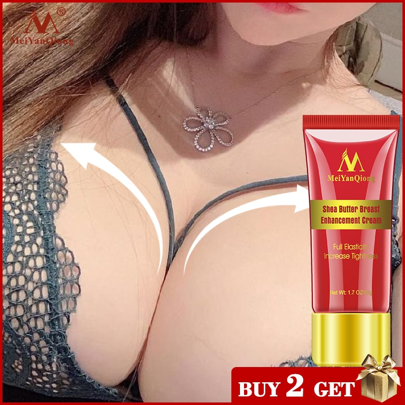 Shea Butter Breast Enhancement Cream Breast Massage Cream promotes rapid growth of the chest and res