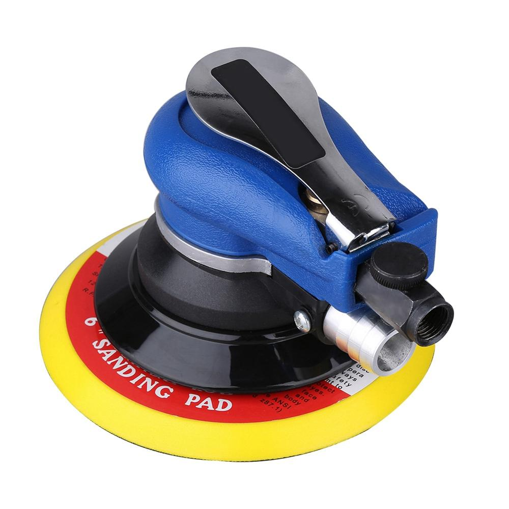6inch Polisher 10000RPM Variable Speed Car Paint Care Polishing Machine Sander Electric Polisher with dust collecting bag hose
