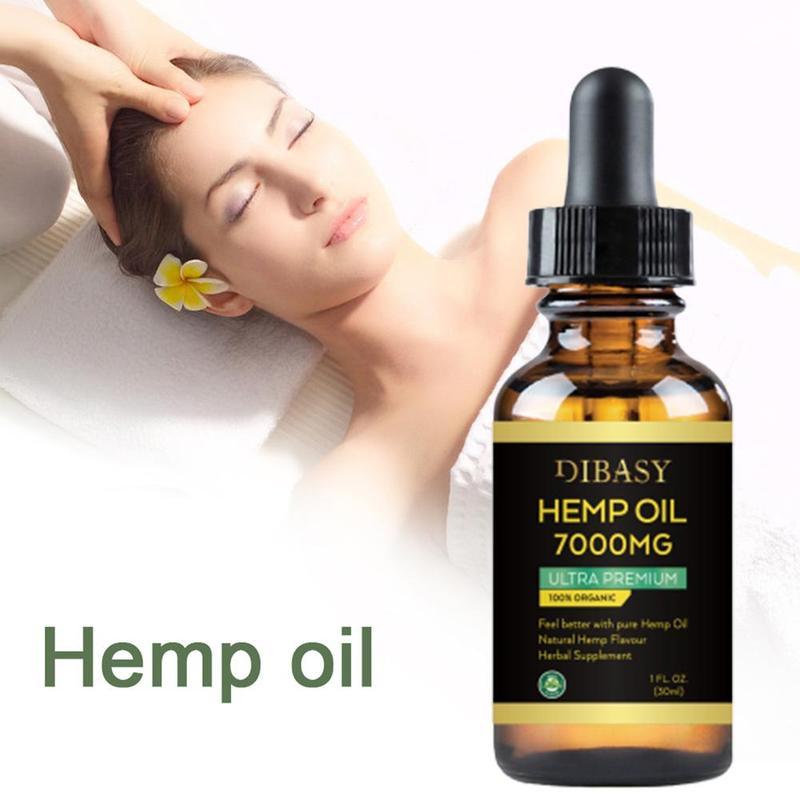 100% CBD Organic Hemp Seed Extract 7000mg Hemp Seed Oil Bioactive Drop to Relieve Pain Reduce Sleep Anxiety Best Lubricanting