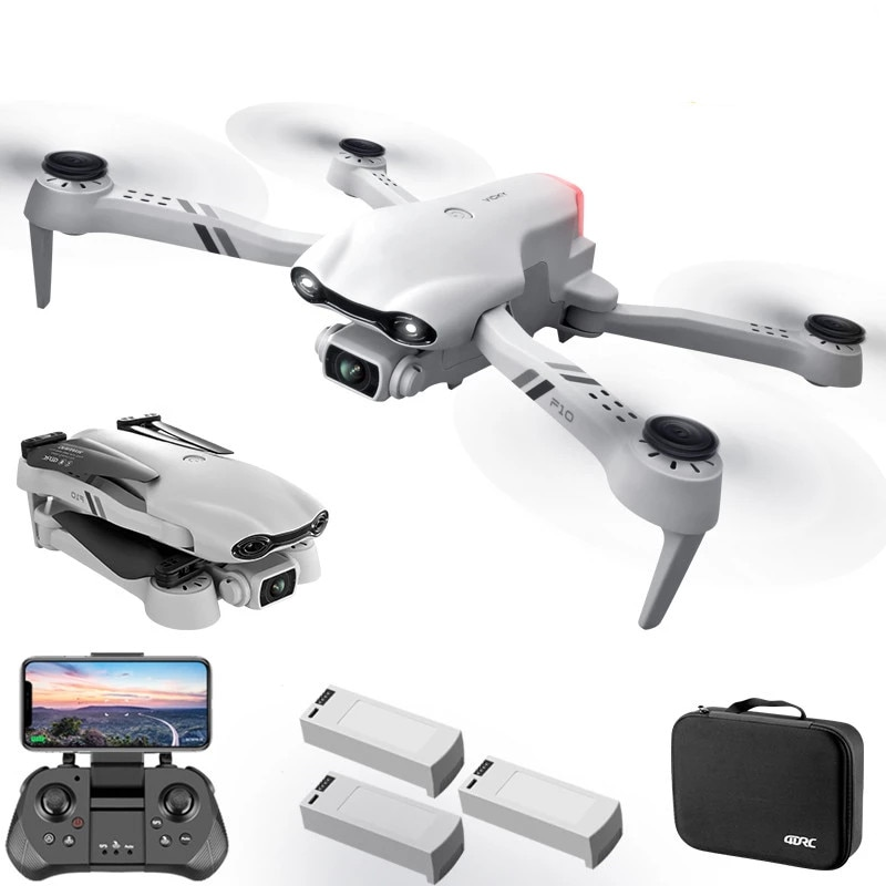 2021 New 6K HD Dual Camera With GPS 5G WIFI Wide Angle FPV Real-time Transmission Rc Distance 2km Professional Drone Quadcopter