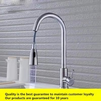 10 years warranty brushed lead free stainless steel kitchen faucet pull out kitchen tap swivel 360 degree water mixer tap