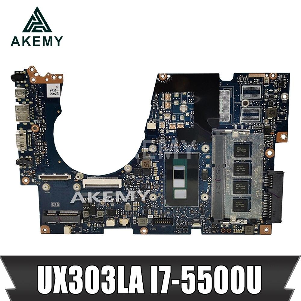 UX303LA اللوحة REV2.0 I7-5500U ل For Asus UX303 UX303L المحمول اللوحة UX303LA اللوحة الرئيسية UX303LA اللوحة اختبار OK