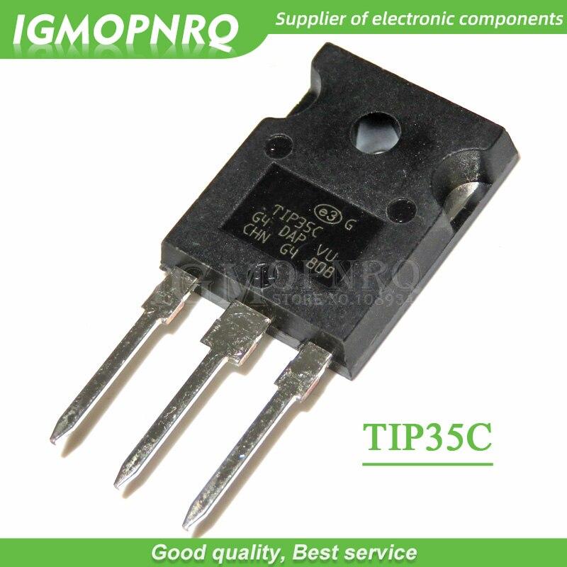 10PCS TIP35C TIP35 ZU-247 100 V/25A/125 W NPN transistor neue original
