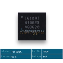 10 pcs/lot pour iphone 5 S/5c U2 ic 1610A1 USB contrôle IC puce chargeur de charge ic 36 broches