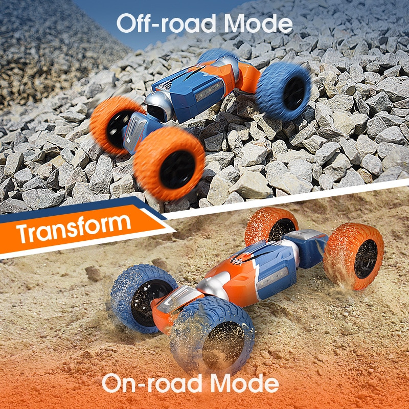 4WD Remote Control Stunt RC Cars 1:16 2.4G Radio Twist Deformation Off-road Vehicle Climbing Childre