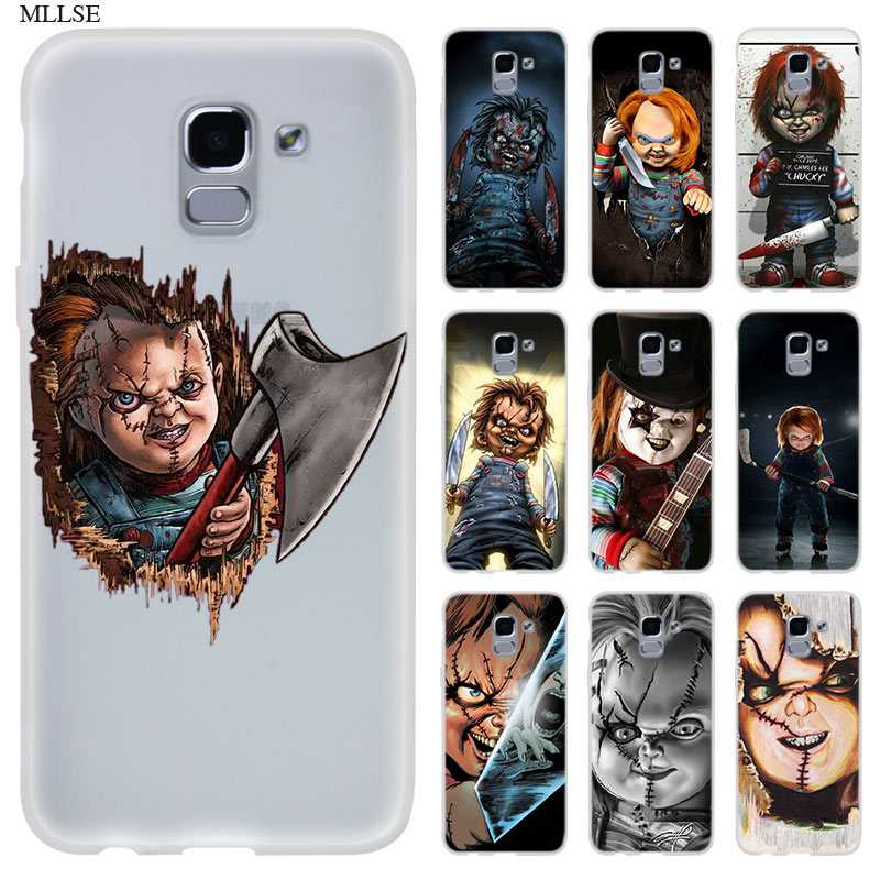 Mode Silikon Fall für J8 J4 J6 Plus 2018 J5 J3 J7 2017 EU CORE Pro 2018 Prime Telefon Abdeckung charles Lee Ray Chucky Puppe