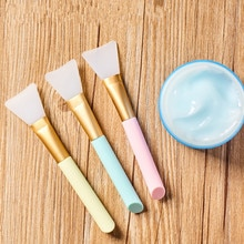 Professional Makeup Brushes Make Up Face Mask Brush Set Wholesale Silicone Gel DIY Cosmetic Beauty T