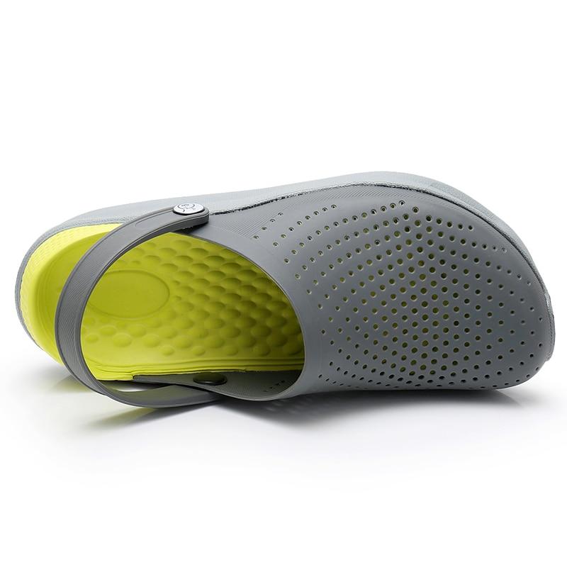Crocks chaussures hommes chaussures Crocse sandales Sandalias chaussures d'été Sandalen pantoufles Sandalet hombre Sandali Croc sabots nouveau 2019