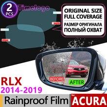Для Acura ILX 2013 ~ 2019 DE1 DE2 DE3 полное покрытие противотуманная пленка зеркало заднего вида дождестойкий прозрачный Плёнки аксессуары 2015 2016 2018