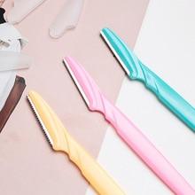 3Pcs Women's Razors Makeup Facial Eyebrow Lip Razor Hair Remover Sharp Stainless Steel Cutting Knife