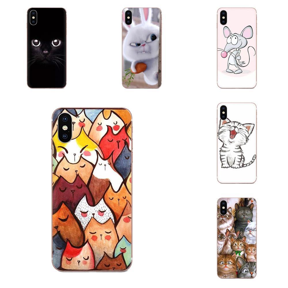 Bonito ratón cerdo gatos perro para Xiaomi Redmi Mi 4 7A 9T K20 CC9 CC9e Note 7 8 9 Y3 SE Pro Prime Go Play TPU funda de moda