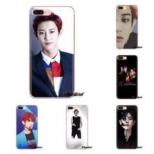 Chanyeol Park Chan Yeol Exo Kpop For Samsung Galaxy A3 A5 A7 A9 A8 Star A6 Plus 2018 2015 2016 2017 Transparent TPU Shell Covers