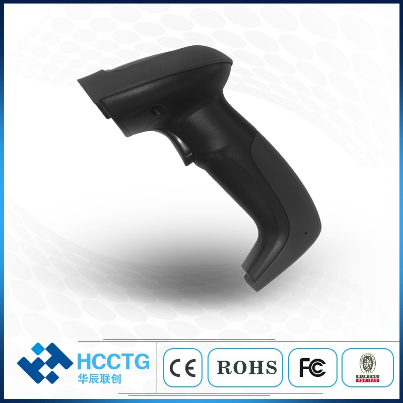 CCD الباركود الماسح الضوئي لشاشة 1D الباركود الماسح الضوئي USB/RS232/PS2 واجهة (HS-6211)