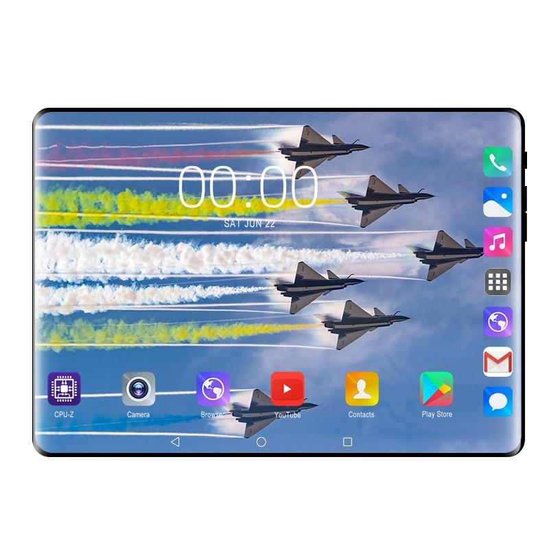 Android 9,0 Tablet PC 10 pulgadas Google store RAM 6GB ROM 128GB Octa Core 3G 4G LTE teléfono inteligente WIFI GPS Android 9 tabletas 10 10,1