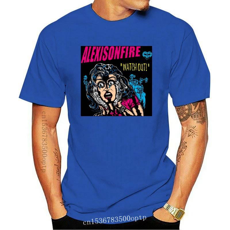 New 2021 Alexisonfire Watch Out Rock Band Logo Men's Black T-Shirt Size S to 3XL(2)