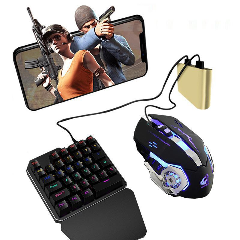 PUBG juego para teléfono móvil ratón controlador teclado Battledock Adaptador convertidor para ios Android Tablet