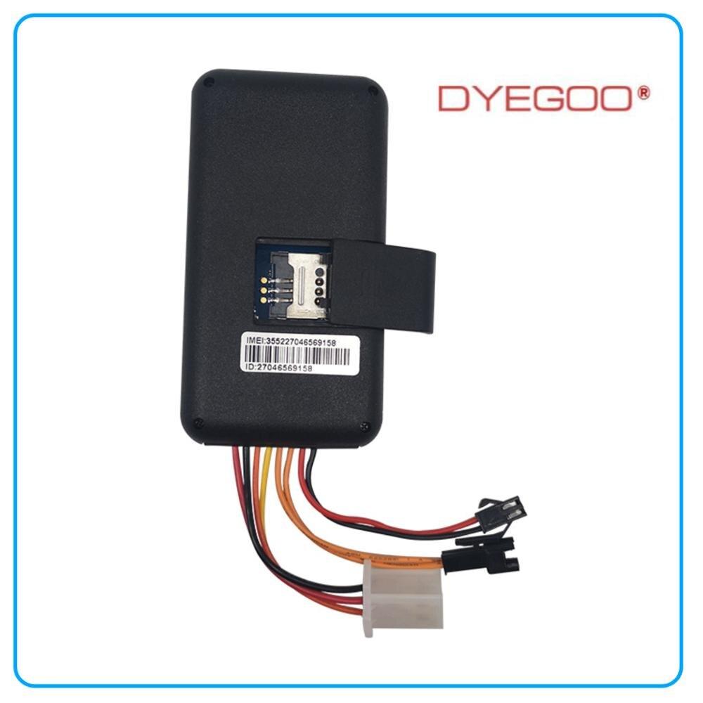 Garantizado 100% rastreador GPS de coche de 4 bandas GT06 Google link APLICACIÓN DE Android IOS de plataforma de alta velocidad