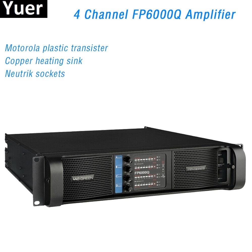4-канальный линейный усилитель FP6000Q, линейный усилитель, конденсатор, линейный усилитель WIMA, профессиональный линейный усилитель звука, лин...