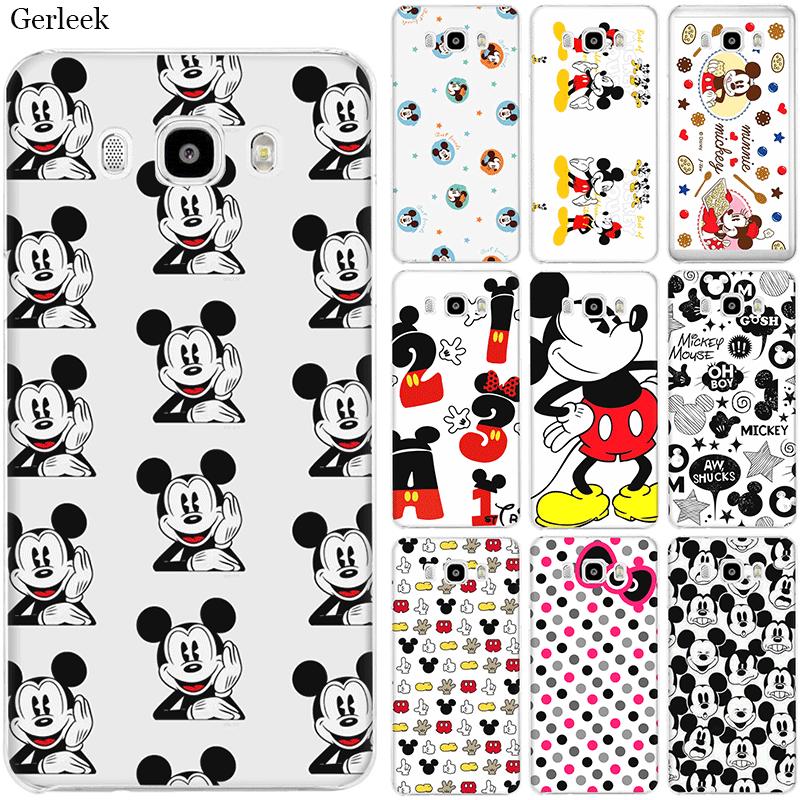 Mobile Phone Case TPU for Samsung A70 A50 A60 A40 A30 A20 A10 A5 A6 A7 A8 A9 Cover Mickey Mouse ears