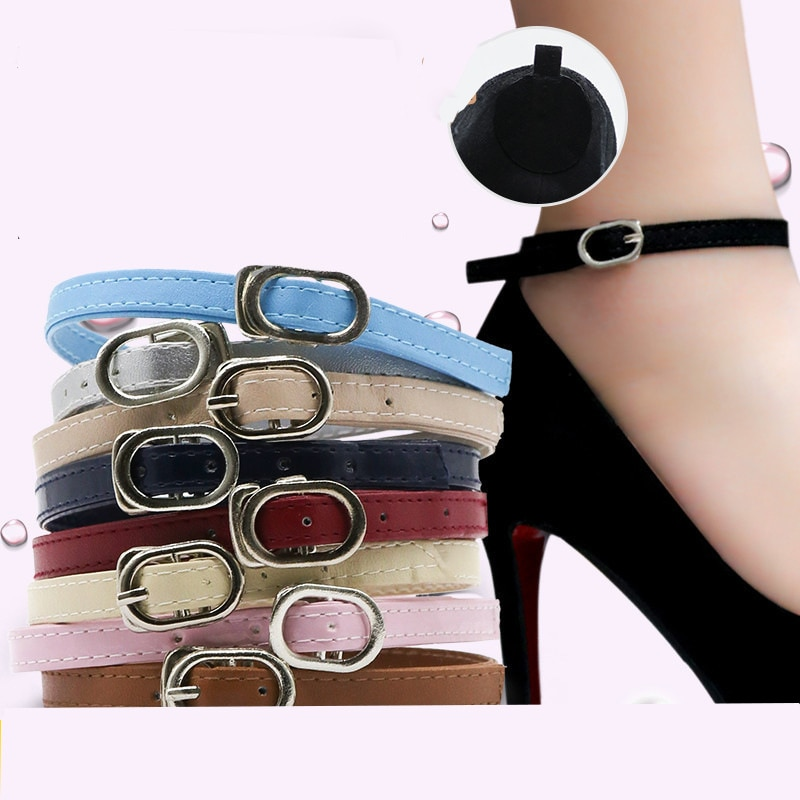 Girl Shoelaces Fashion Women Bundle Shoelaces for High Heel Anti-Skid Invisible Ankle Adjustable Sho