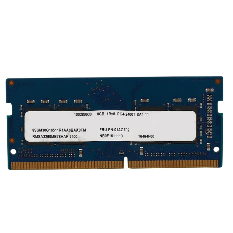 DDR4 8GB 2400MHz 260Pins ذاكرة عشوائية Ram الكمبيوتر المحمول 1.2 فولت Sodimm عالية الأداء ذاكرة الوصول العشوائي لأجهزة الكمبيوتر المحمول