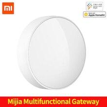Passerelle Multimode dorigine Xiaomi Mijia 3 système dalarme domestique Intelligent Radio en ligne veilleuse cloche Mi passerelle