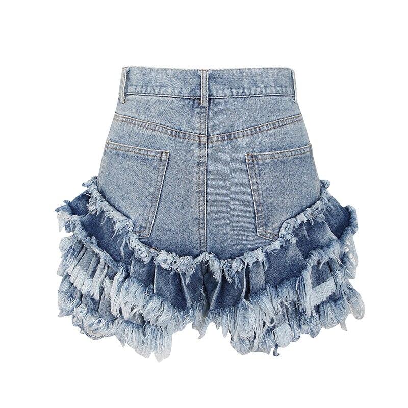 Женские джинсовые шорты, короткие облегающие шорты с карманами, сексуальные женские шорты