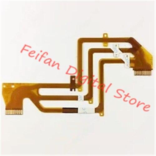 2 uds LCD bisagra eje giratorio Flex Cable para Sony HDR-SR11E HDR-SR12E SR11 SR12 cámara de vídeo