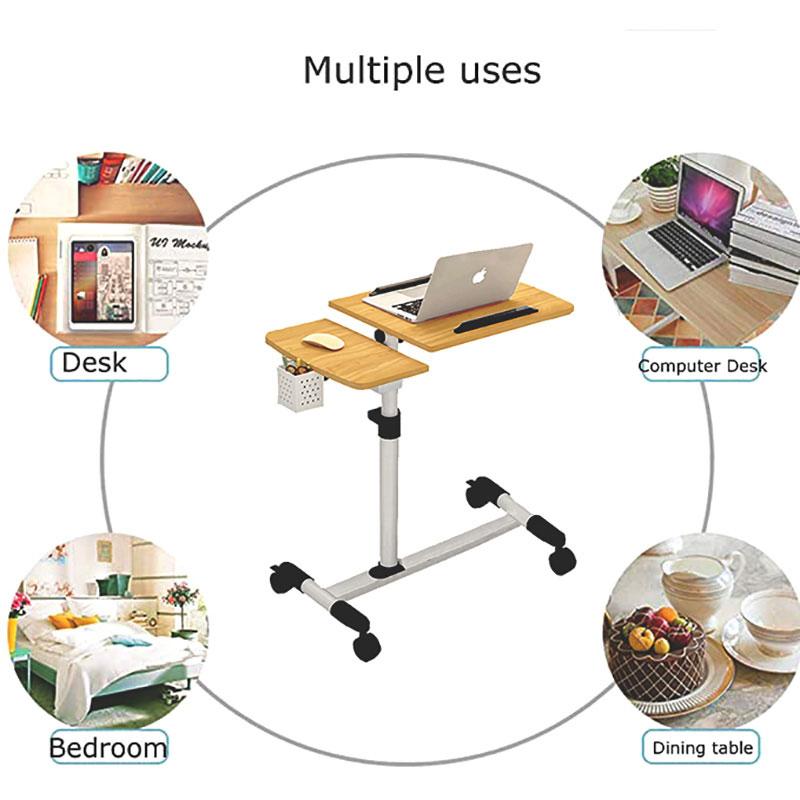 Mesa plegable mesa de cama de mesa de la Mesa de la computadora para el ordenador de escritorio ajustable mesa de escritorio
