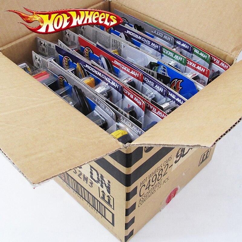 5pcs-72pcs Original Diecast Hot Wheels Model Cars 1:43 Diecasts & Toy Vehicles Cars Hotwheels Toys f