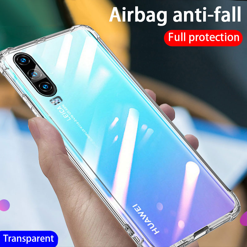 Luxury Shockproof Silicone Phone Case For Huawei P20 P10 P30 Lite P40 Case For Mate 10 20 30 40 Lite