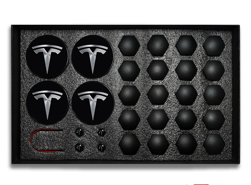 29 pçs para tesla modelo 3 rodas centro tampões hub capa parafuso tampa kit decorativo pneus modificação do carro acessórios emblema emblema emblema