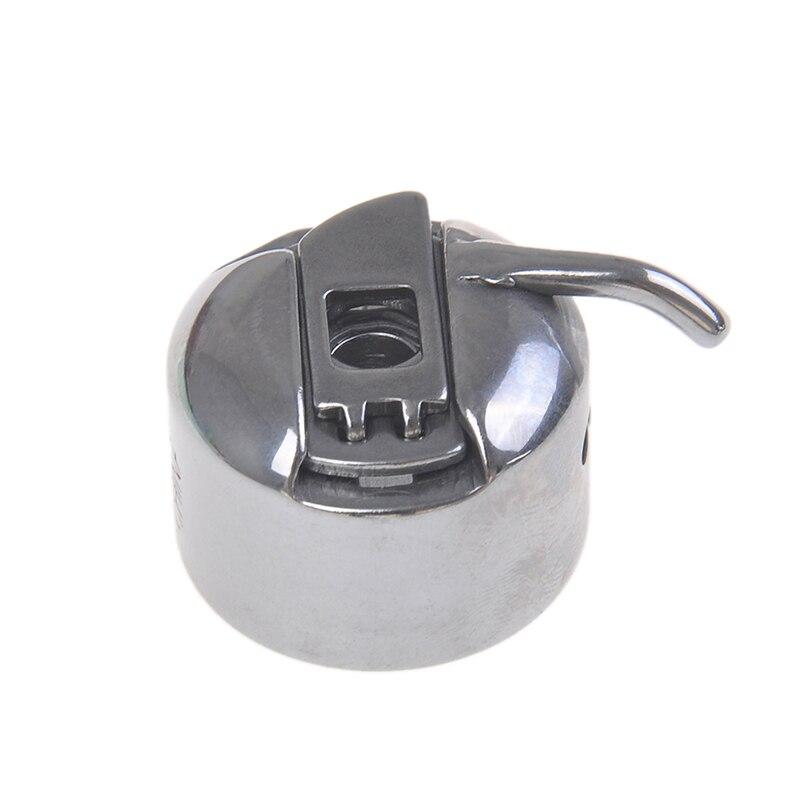 One Piece Silver Sewing Machine Metal Bobbin Spool Case Sewing Machine Accessorries