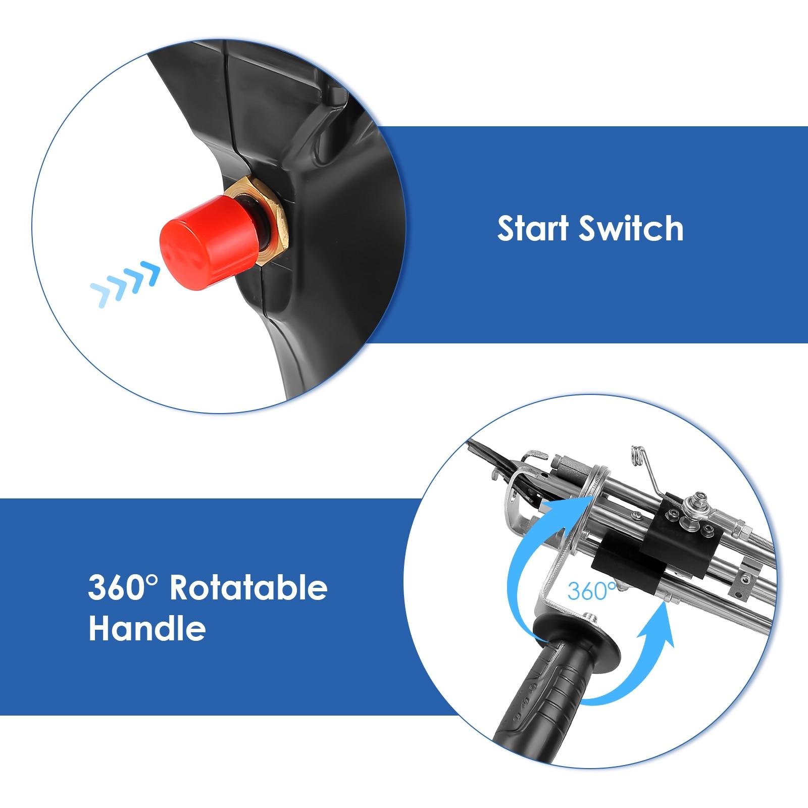 Black Electrical Manual Cut Pile Carpet Weaving Flocking Power Tools 100-240V Adjustable Rug Mats Tufting Gun Machine (For Loop) enlarge