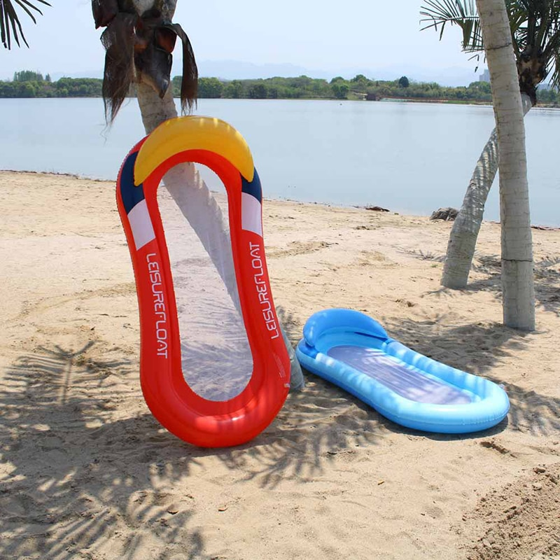 2020 плавательный водный гамак кровать надувной бассейн поплавок стул 160 см x 80 см кресло для отдыха поплавок пляжная кровать для отдыха для де...