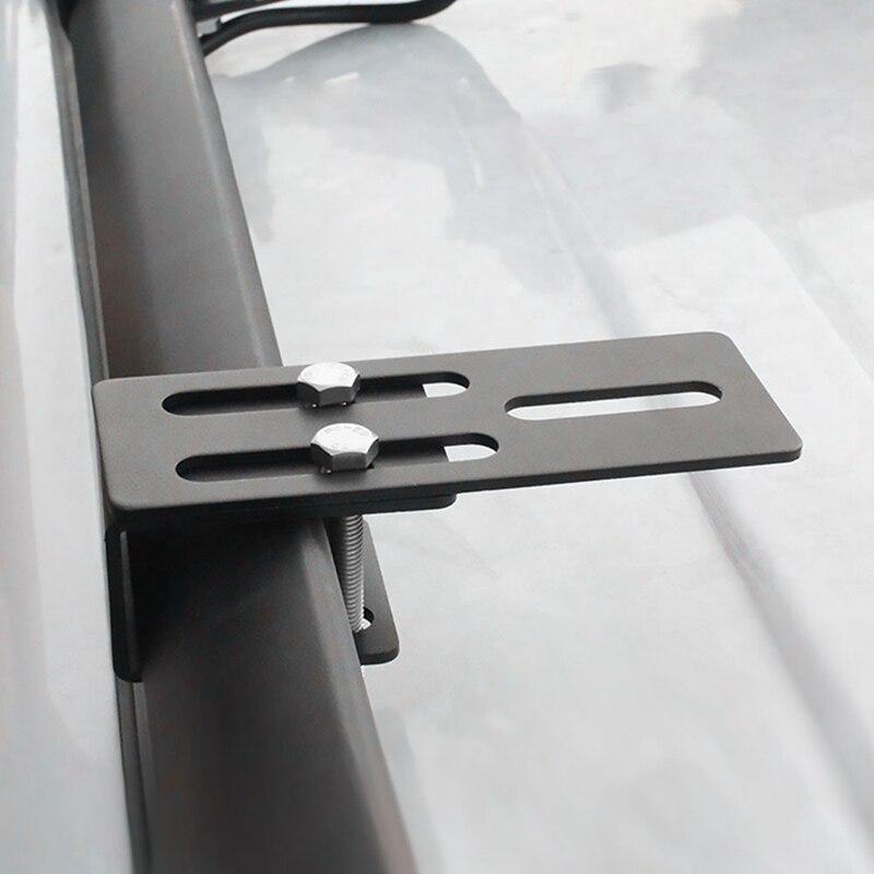 Soporte Universal de montaje para equipaje de coche, tira de luces para foco de vehículo, soporte para bolsa de techo, estante fácil de instalar para todoterrenos y vehículos todoterreno