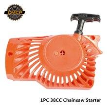 1pc 38CC Kettensäge Einfach Pulley Starter Kettensäge Ersatzteile Kettensäge Starter Recoil Pull Starter Kettensäge Teile