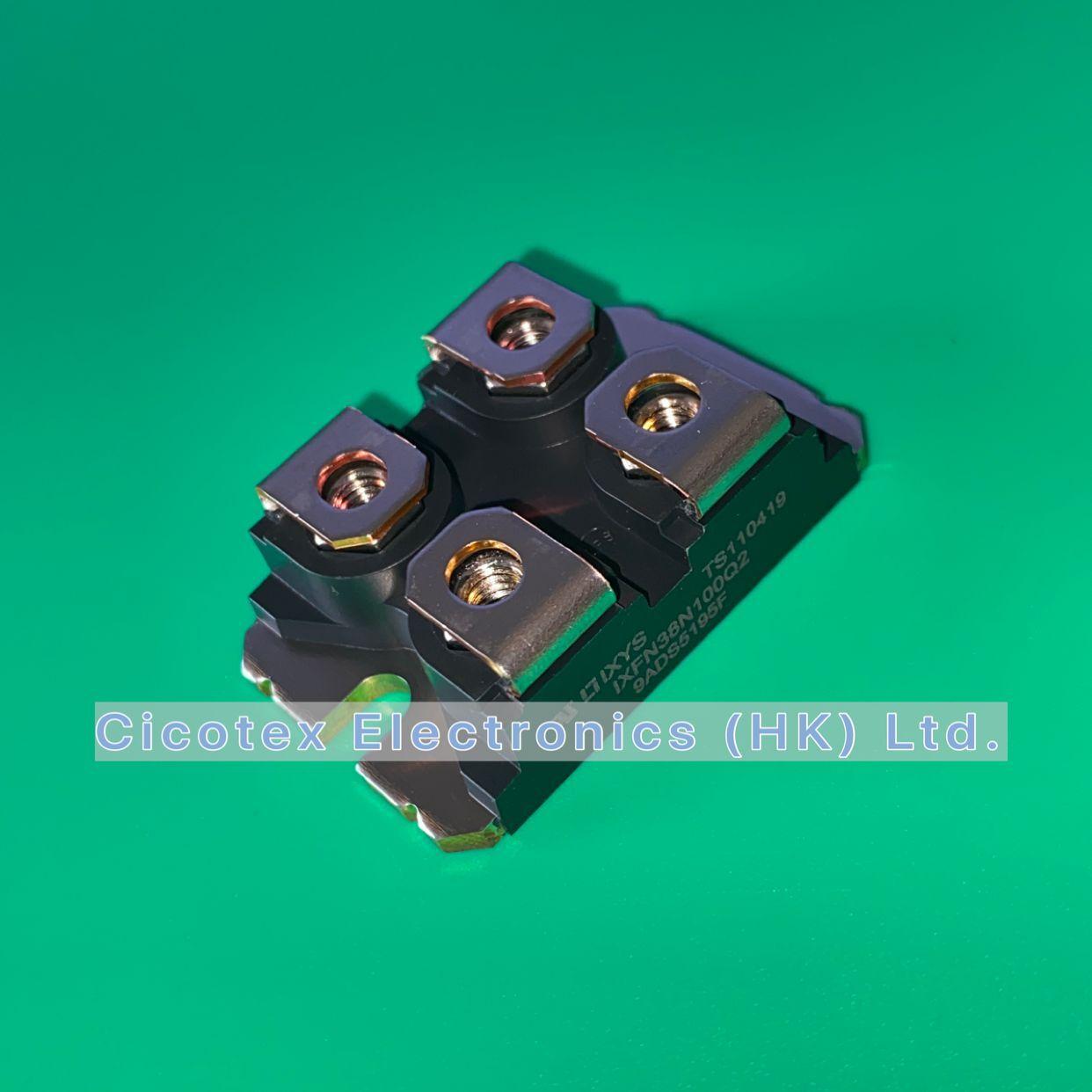 IXFN38N100Q2 SOT227 IXFN38N100 Q2 N-Channel Enhancement Mode Avalanche Rated HiPerFET Power MOSFET IXFN38N 100Q2 IXFN38 N100Q2