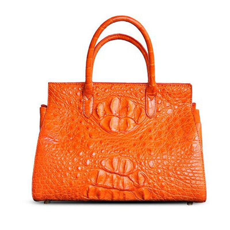 حقيبة يد نسائية من ouruili بكتف واحد من جلد التمساح الأصلي حقيبة يد حقيقية للنساء حقيبة عشاء بتصميم مميز جديد للسيدات