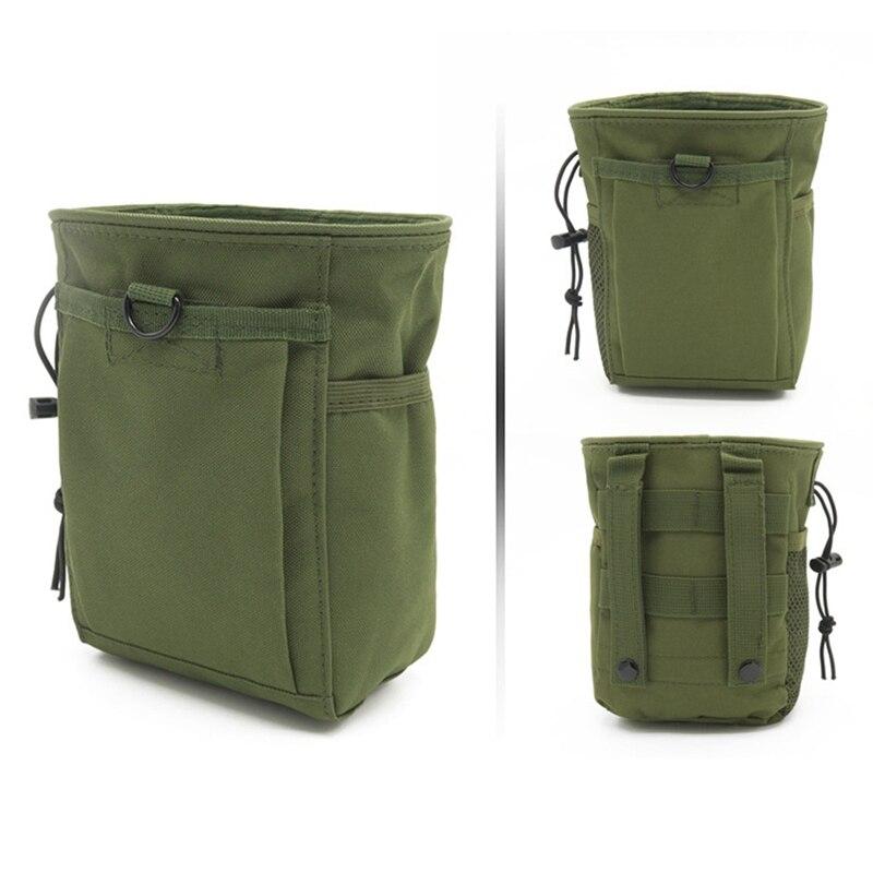 Bolsa de munición al aire libre Paquete de pistola táctica revista volquete recargador bolsa de utilidad Rifle de caza bolsa de revista