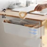 kitchen organizer wall plastic storage container box drawer rack basket shelf for cabinet closet storage accessories