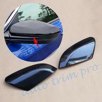 Carbon Fiber Parts Door Rear View Mirror Cover Trim Fit For Honda Civic Sedan 2016 2017 2018 2019 Accessories Moulding Decorate