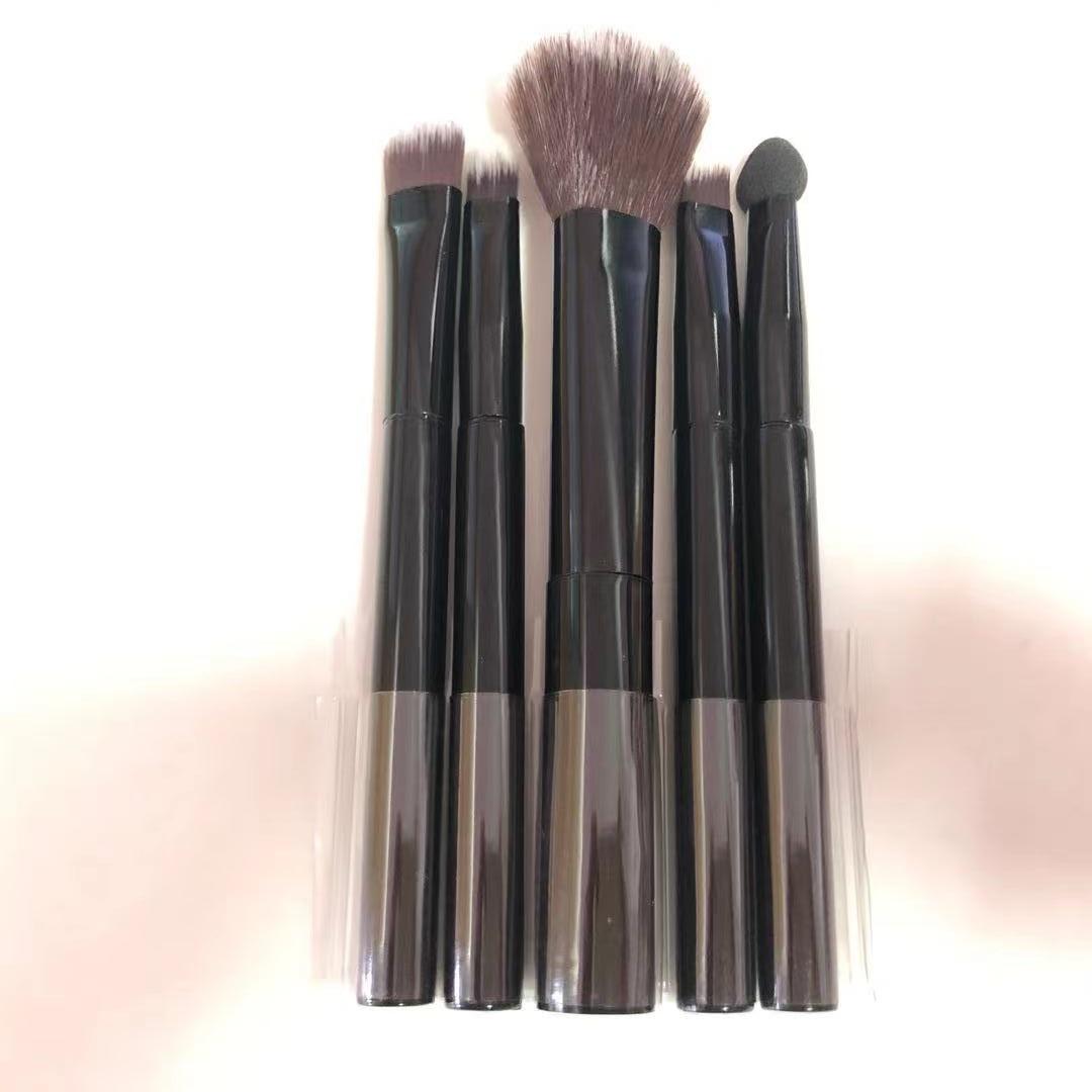 JIELI Makeup Brushes set 5PCS/lot Professional Make up Brush Natural Hair Foundation Powder Brush Li