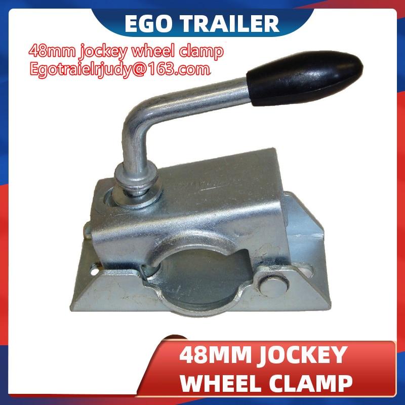 Ego прицеп 48 мм зажим для прицепа Жокей колеса или Опора стенды, прицеп джек, прицеп жокей колесо зажим, прицеп части