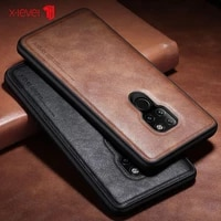 x level leather back case for huawei mate 40 mate 30 mate 20 p50 p40 pro plus cases original luxury ultra light phone cover