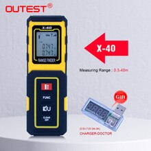 OUTEST Mini Laser Rangefinder Laser Distance Meter 40M/30M Metro Laser Meter Tool Rulers Build Measure Device