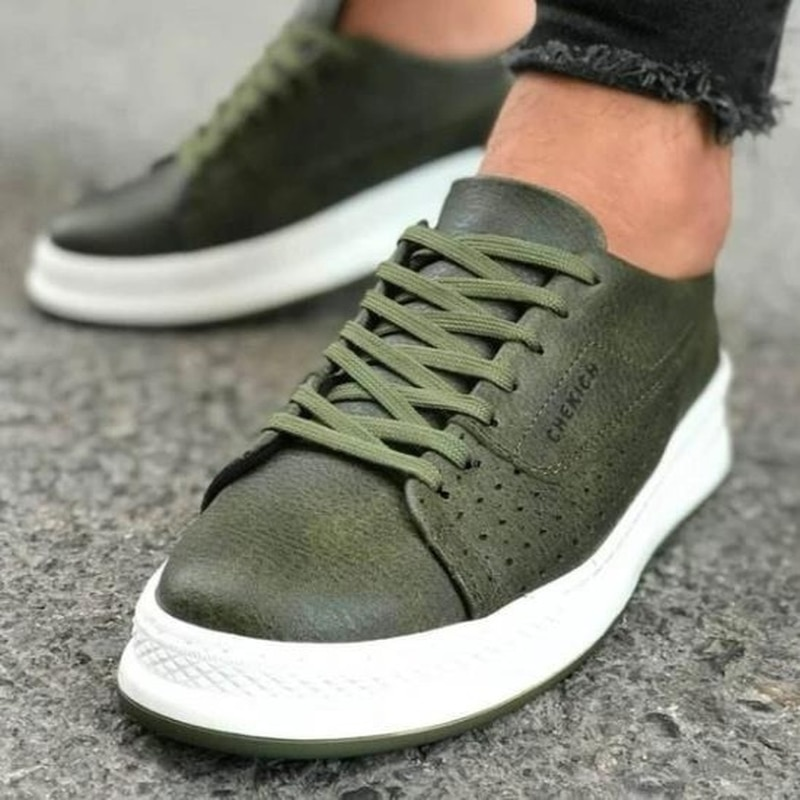 Men Shoes Fashion Low Heel Lace-up Male Casual Sports Comfortable Stylish Multi Color Sneakers Zapat