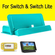 Support Support de quai pour Nitendo Nintend Nintendo Switch Lite Console Support de jeu accessoires contrôle Nintendoswitch Nintwndo