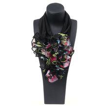 Floral Collar Scarf